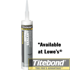 KEO TITEBOND WEATHERMASTER METAL SEALANT