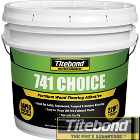 KEO TITEBOND 741 CHOICE PREMIUM WOOD FLOORING ADHESIVE