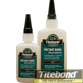 KEO TITEBOND INSTANT BOND WOOD ADHESIVE GEL