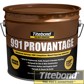 KEO TITEBOND 991 PROVANTAGE WOOD FLOORING ADHESIVE
