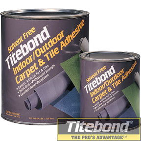 KEO TITEBOND SOLVENT FREE INDOOR/OUTDOOR CARPET & TILE ADHESIVE