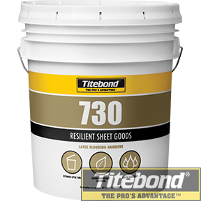KEO TITEBOND 730 RESILIENT SHEET GOODS ADHESIVE