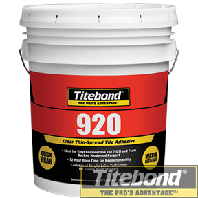 KEO TITEBOND 920 CLEAR THIN-SPREAD TILE ADHESIVE