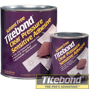 KEO TITEBOND SOLVENT FREE CLEAR PRESSURE SENSITIVE ADHESIVE