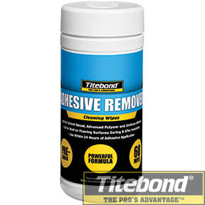 KEO TITEBOND ADHESIVE REMOVER CLEANING WIPES