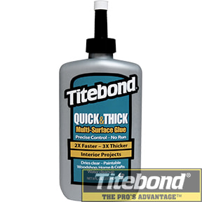 KEO TITEBOND QUICK & THICK MULTI-SURFACE GLUE