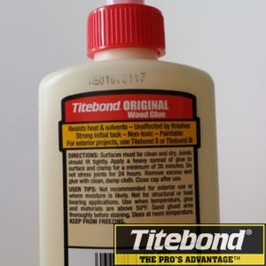 Keo dán gỗ titebond i original wood glue